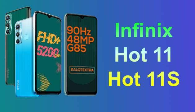 Hot 11 and Infinix Hot 11S