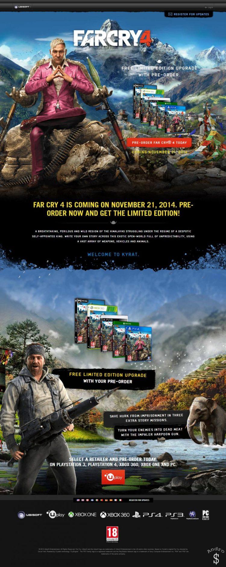 Far Cry 4 Official Website