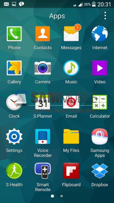 Android L on Galaxy S5 – Andro Dollar (2)