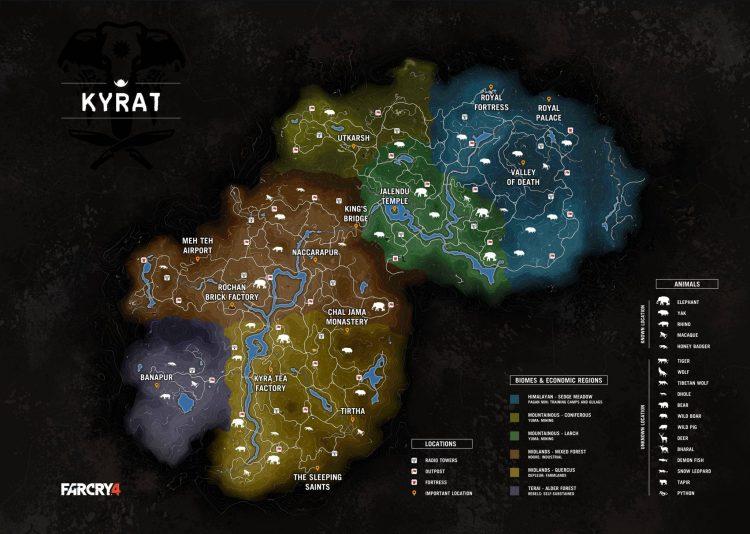 Far Cry 4 Map - Andro Dollar