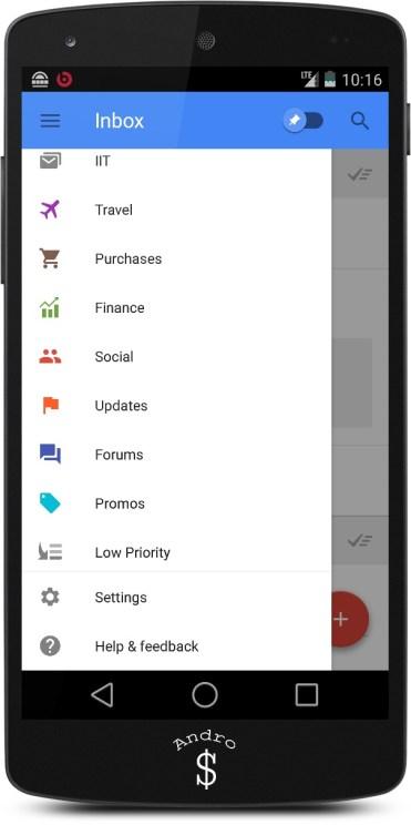 Google Inbox Review – Andro Dollar (3)