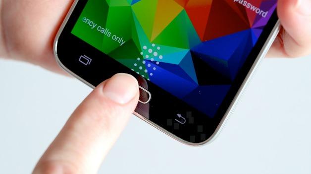AndroidPIT-S5-Finger-Scanner