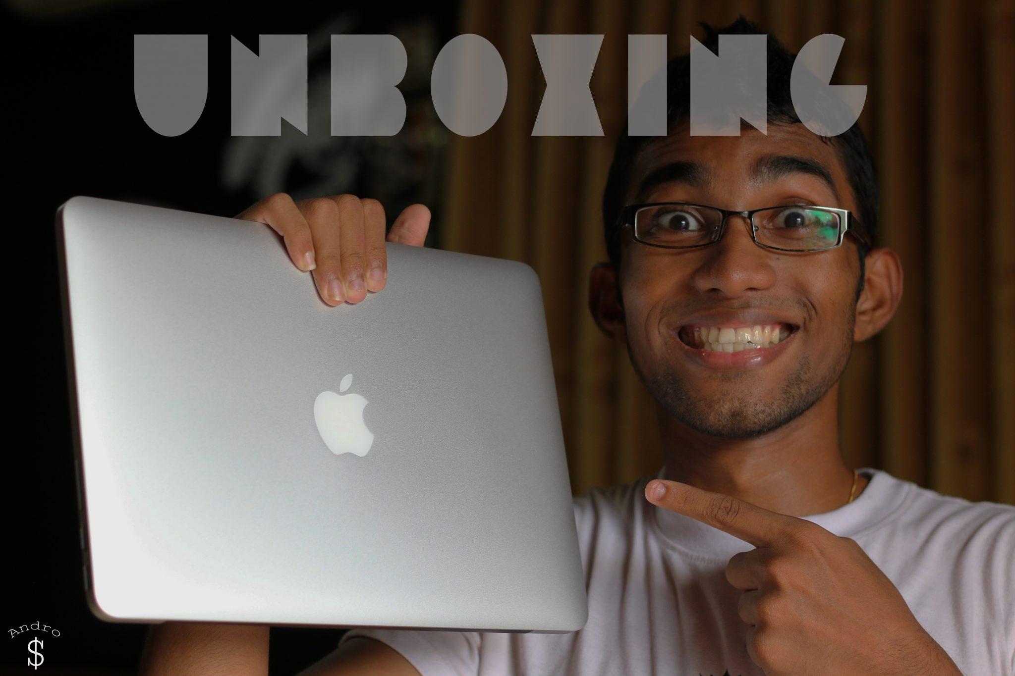 Macbook pro 13 unboxing