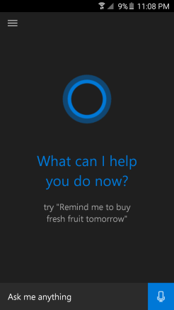 Cortana – Android – Andro Dollar3