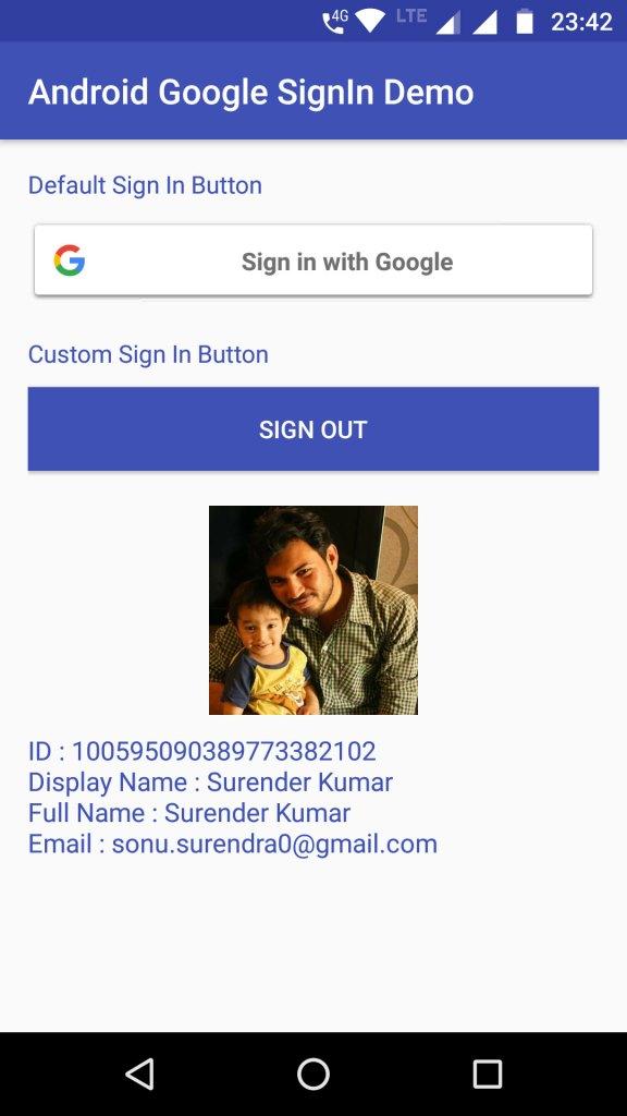 Get User Profile Information