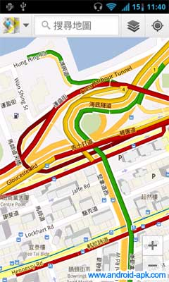 香港 Google Maps 提供實時路況 | Android-APK