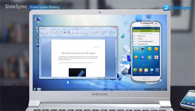 Samsung 推出 SideSync App, 電腦手機一同工作 | Android-APK