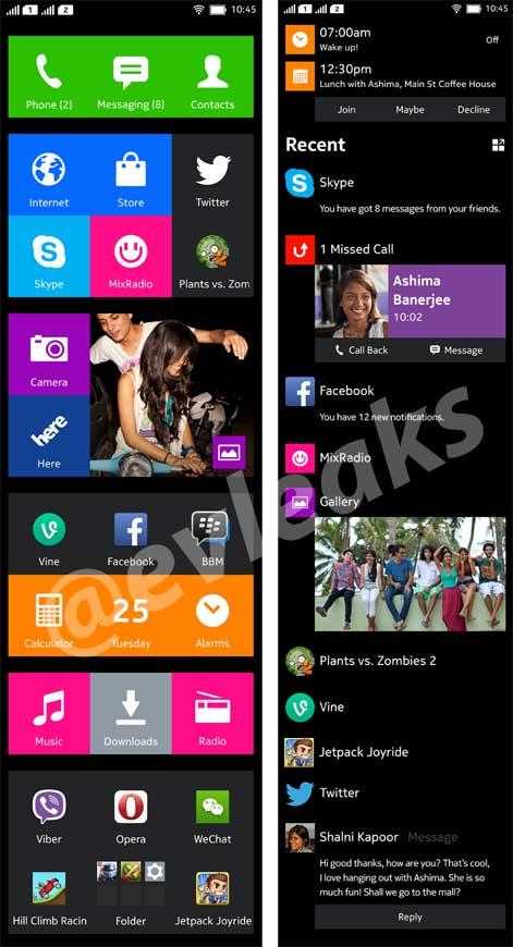 Nokia Normandy UI 截圖 | Android-APK