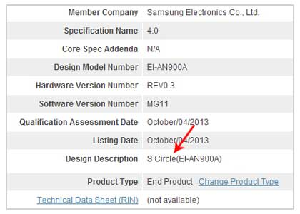 Samsung 又一款穿戴式裝置 S Circle | Android-APK