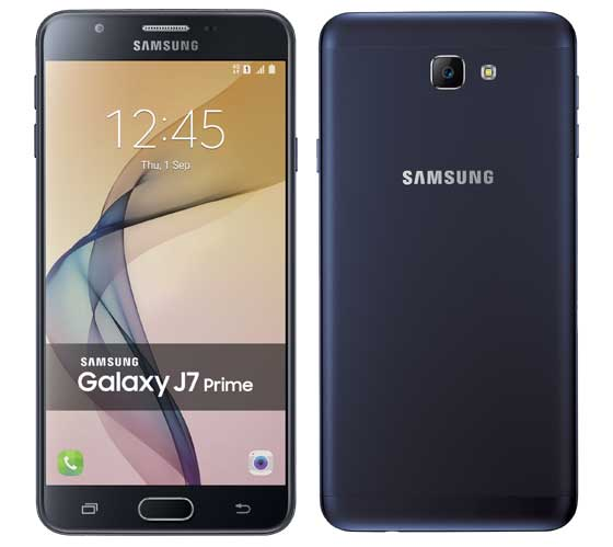 Samsung Galaxy J5 Prime,三星即將推出的Galaxy J7 Prime 在網路上曝光了相關硬件規格和產品圖片。其想法不是與上述型號競爭,相機鏡頭不外突,搭配正面 2.5D 大猩猩第四代玻璃,整體造型更臻完美, J7 Prime   Android-APK