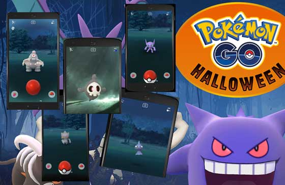 Pokemon GO 萬聖節活動, 明天開始, 鬼系小精靈出場 | Android-APK