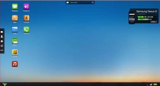 Der Desktop im Browser