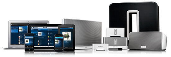 Die Sonos Produktfamilie