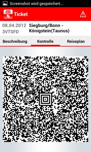 Bahnfahrkarten jetzt auch per App kaufen mit DB Tickets