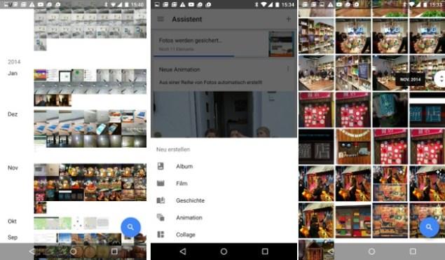 Google Foto App