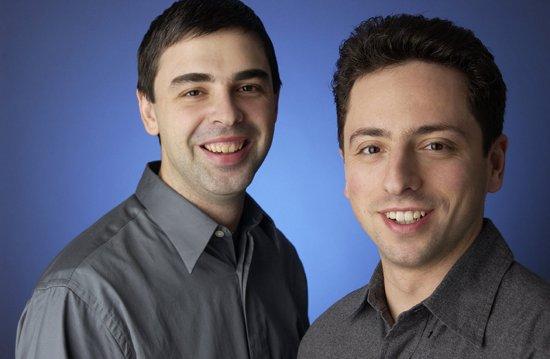 Google-Gründer Sergey Brin und Larry Page (c) Google