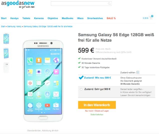 Samsung bei asgoodasnew