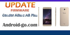 تحديث جديد [Update Firmware Condor Allure A8 Plus PGN612 [V8374