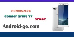 فلاشة كوندور Firmware CONDOR Griffe T7 SP632