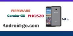 فلاش كوندور Firmware Condor Griffe G5 PHQ520
