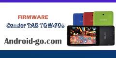 فلاشة تابليت Firmware Condor Tab TGW-706