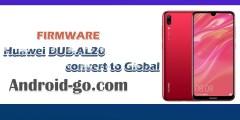 downgrade و تحويل هاتف huawei DUB-AL20 الى النسخة العالمية