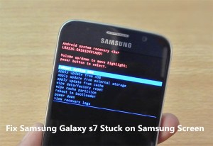 [Fixed]Samsung Galaxy S9S8S7S6S5 Stuck on Samsung Screen