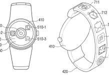 smartwatch android brevetto samsung schermo cinturino