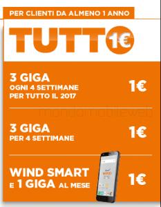 offerta wind tutto 1 euro
