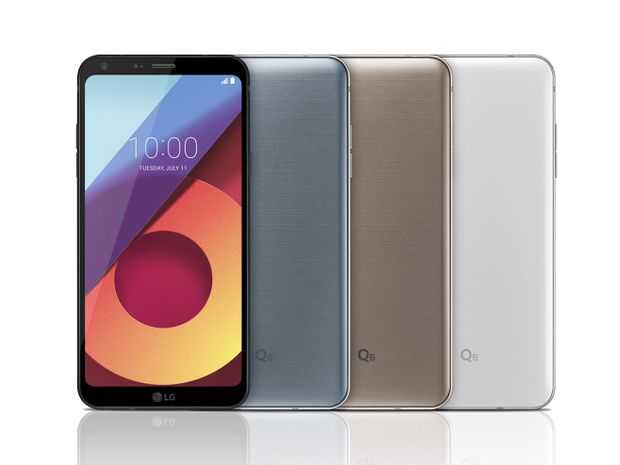 LG Q6 arriverà in Europa il mese prossimo