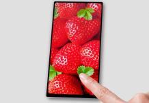 sony nuovo smartphone borderless