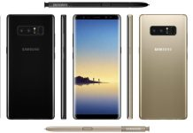 samsung note 8 specifiche tecniche