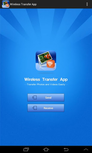 Android wireless transfer app