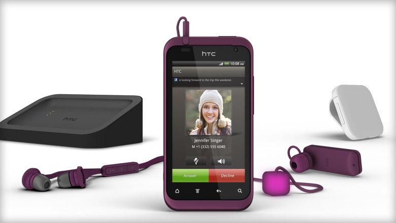 A la découverte du HTC Rhyme