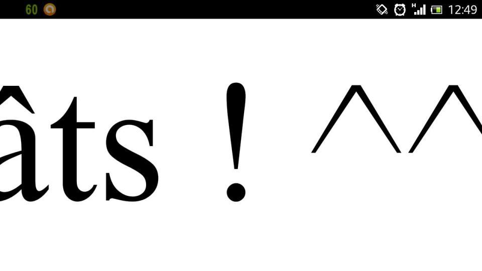 XPERIA S zoom maxi sur un doc .pdf