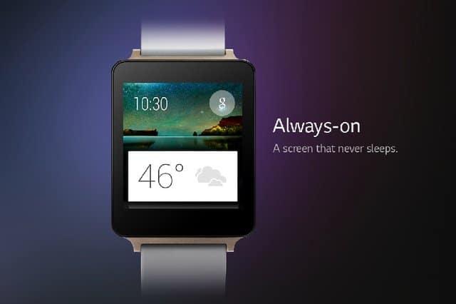 LG dévoile sa G Watch