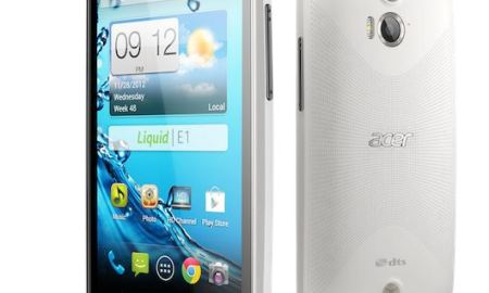 Acer Liquid E1 Android smartphone