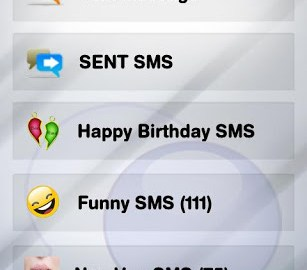 Way2sms SMS application