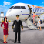 Flying Plane Flight Simulator 3D – Airplane Games 1.0.7 .APK MOD Unlimited money Download for android