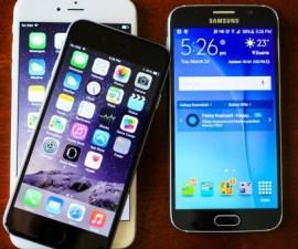 Samsung Galaxy S6 vs. Apple iPhone 6