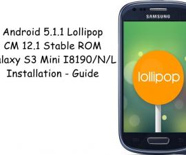 Installing Android 5.1.1 Lollipop