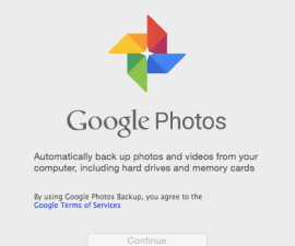 Google photo library