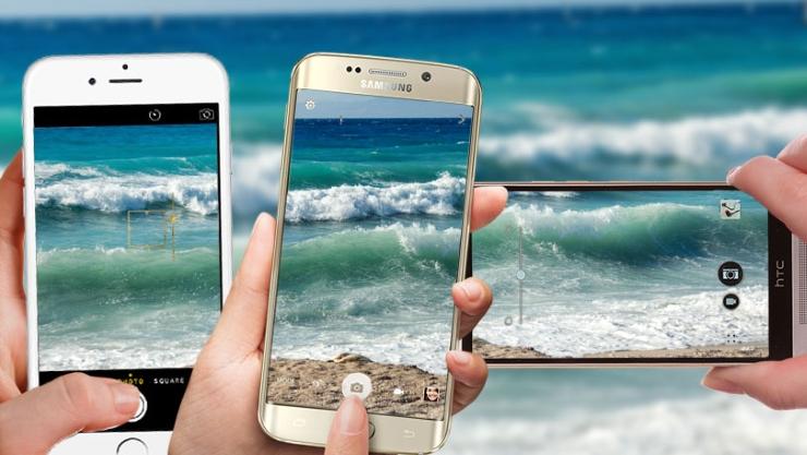 Samsung Galaxy S6 And HTC M9