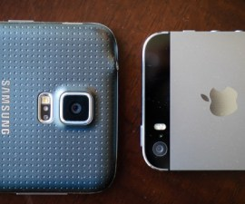 Samsung Galaxy S5 And The Apple iPhone 5s