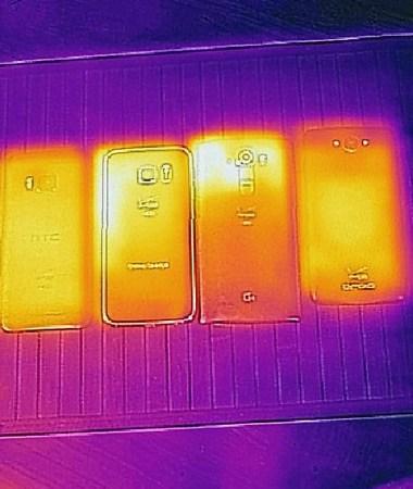 Testing Leading Smart Phones through Flir One