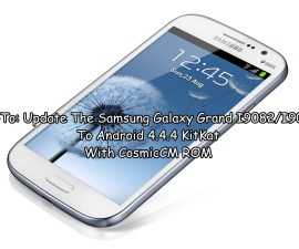 Update The Samsung Galaxy Grand