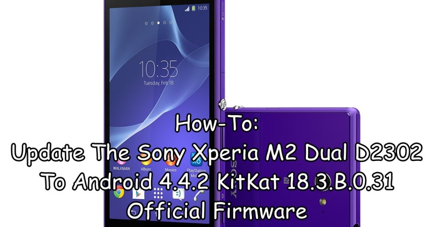 Update The Sony Xperia M2