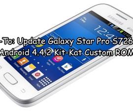 Galaxy Star Pro