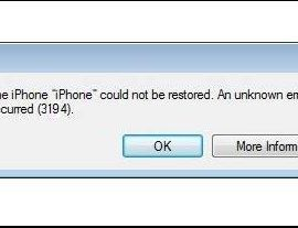 Fix iTunes Error 3149