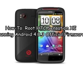 Root HTC Sensation XE